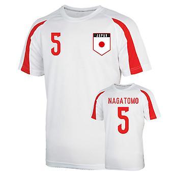 اليابان الرياضة التدريب جيرسي (ناغاتومو 5)