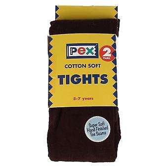 Collants filles PEX coton douce plaine