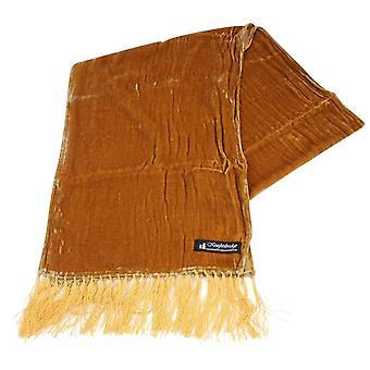 נייטסברידג ' ללבוש צעיף קטיפה-זהב