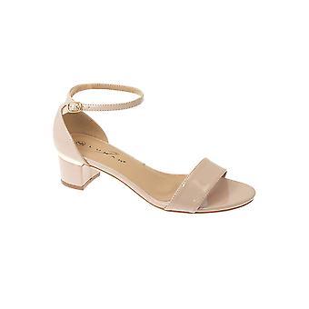 JLH844 Jaynie Mesdames serpent brevet impression boucle Ankle Strap moyen nantis Sandals