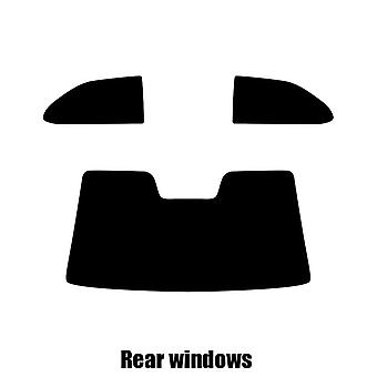 Pre cut window tint - SEAT Cordoba Coupe - 1997 to 1998 - Rear windows