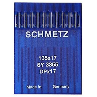 10 x Schmetz Industrial Sewing Machine Needles - Walking Foot Ball Point 135x17 SES (Various Sizes)