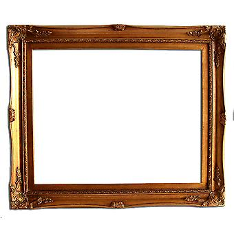 40x50 cm eller 16x20 tommer, fotoramme i gull