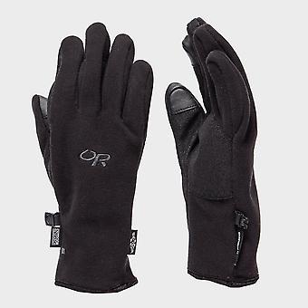 New Outdoor Research Men's Gripper Sensor Glove Black