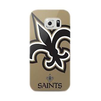 5 Pack -Mizco Sports NFL Oversized Snapback TPU Case for Samsung Galaxy S6 (New Orleans Saints)