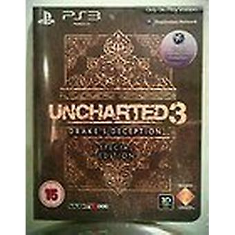 Uncharted 3 Drakes Deception Special Edition - Neu