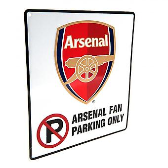 Arsenal FC Official No Parking Sign