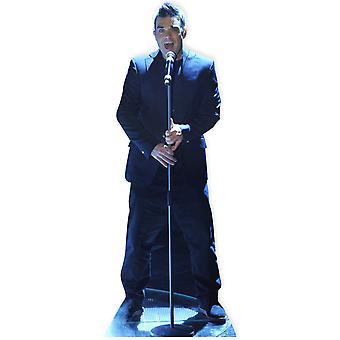 Robbie Williams (ta) Lifesize kartong släppandet / stående