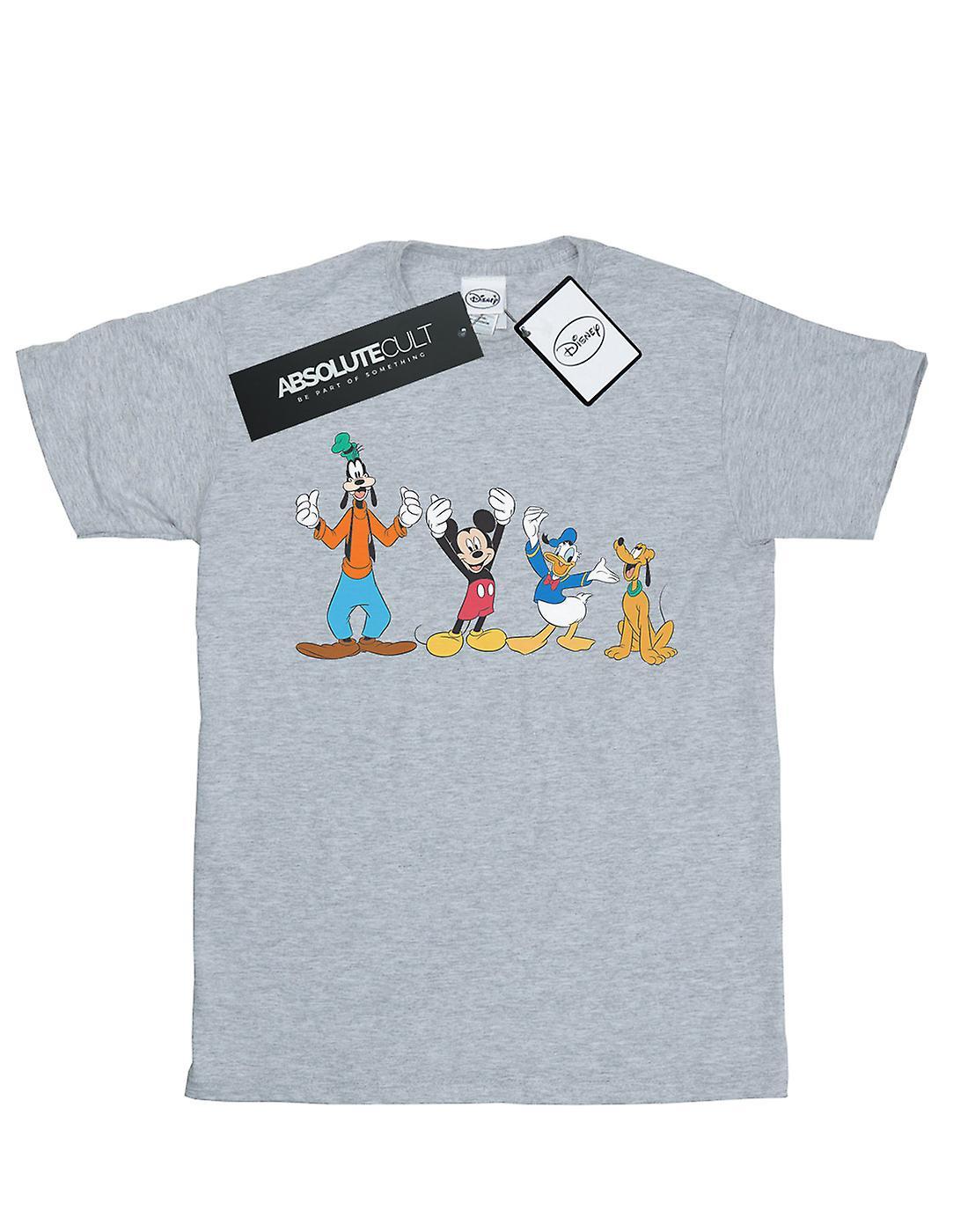 Disney Men's Mickey Mouse Friends T-Shirt