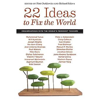 22 idées pour réparer le monde