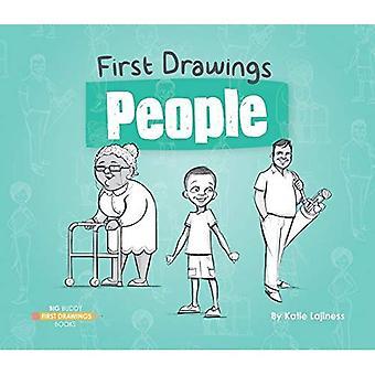 Mensen (eerste tekeningen)