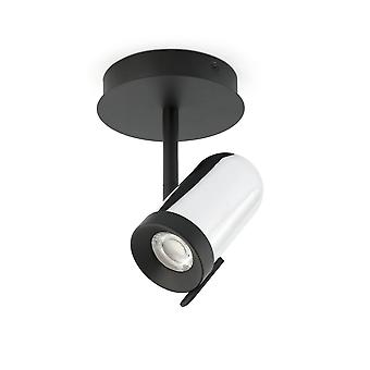 Faro - Orleans Chrome And Black Dropped Single Spotlight FARO43531