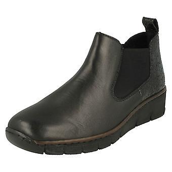 Buty za kostkę pięty Rieker Wedge 53794
