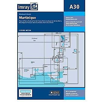 Imray Chart A30 - Martinique by Imray - 9781846239915 Book