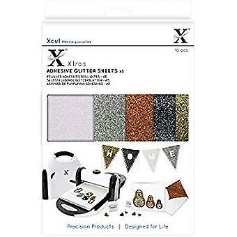 Xcut Xtra A5 Lijm Glitter Sheets