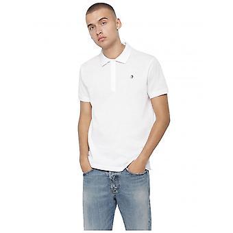 Diesel T-Ja Polo shirt-hvit