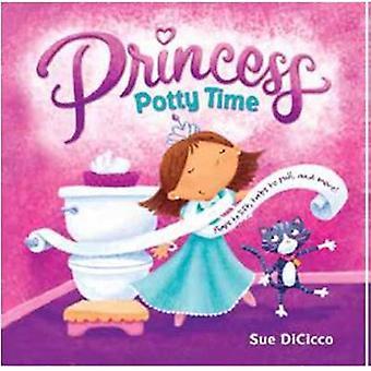 Princess Potty Time by Sue DiCicco - 9780375872020 Book