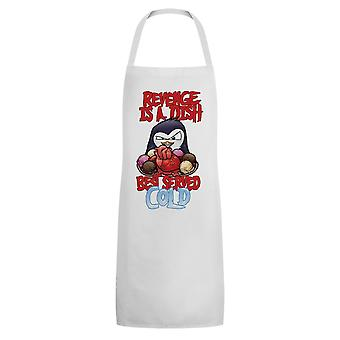Psycho Penguin Revenge Is A Dish Best Served Cold Apron