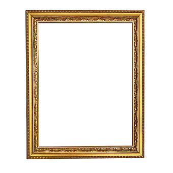 24x28 cm or 9, 5x11 inch, photo frame in gold