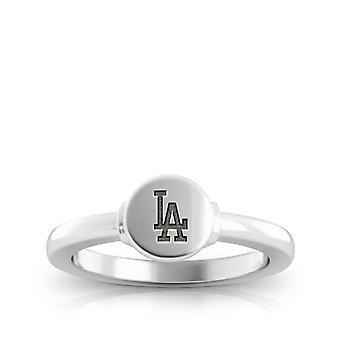 Los Angeles Dodgers ring in Sterling Zilver ontwerp door BIXLER