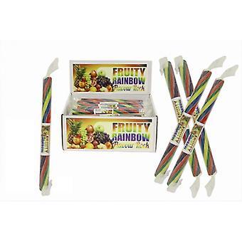 20 kleine aromatisierte Rock Sticks - Regenbogen-Geschmack