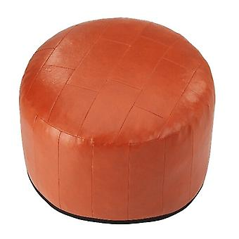 Seat cushion seat stool stool Ottoman faux leather patchwork terra