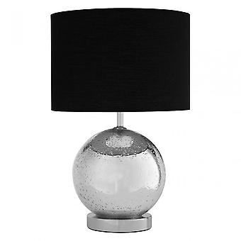 Premier Home Naomi Table Lamp - EU Plug, Black