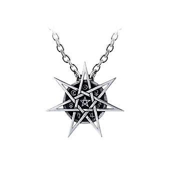 Alchemy Gothic eleven Star tenn hängande