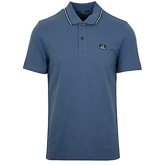 C.P. Company Ink Blue Slim Fit Polo