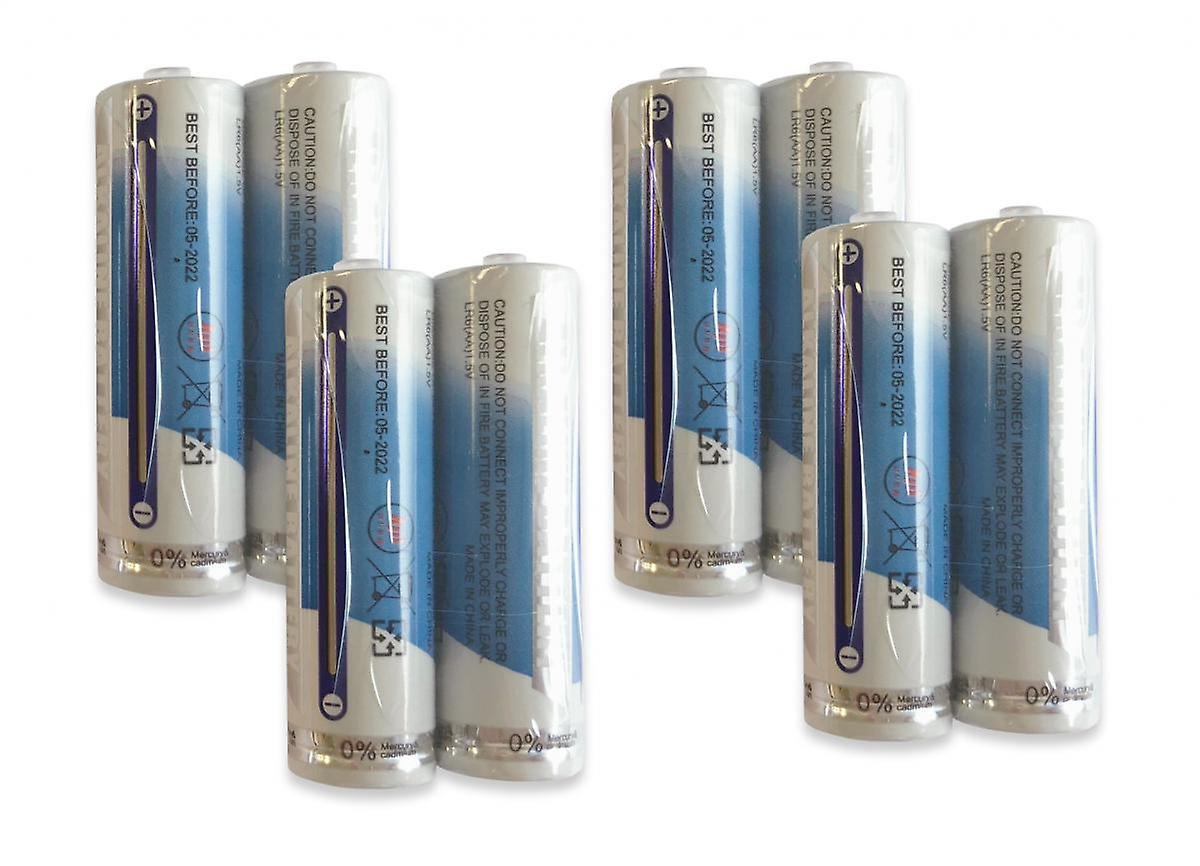1.5V AA Alkaline Battery (Pack of 8)