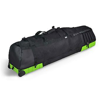Sun Mountain Kube Padded Golf Wheeled Travel Flight Cover Rush/Black