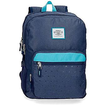 Pepe Jeans Molly Backpack 44 centimeters 20.13 Blue (Azul)