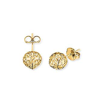 Engelsrufer Classic earrings for women 925 Sterling silver gold plated 10 -4 mm