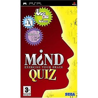 Mind Quiz (PSP)-fabriken förseglad