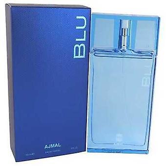 Ajmal Blu By Ajmal Eau De Parfum Spray 3 Oz (men) V728-541994