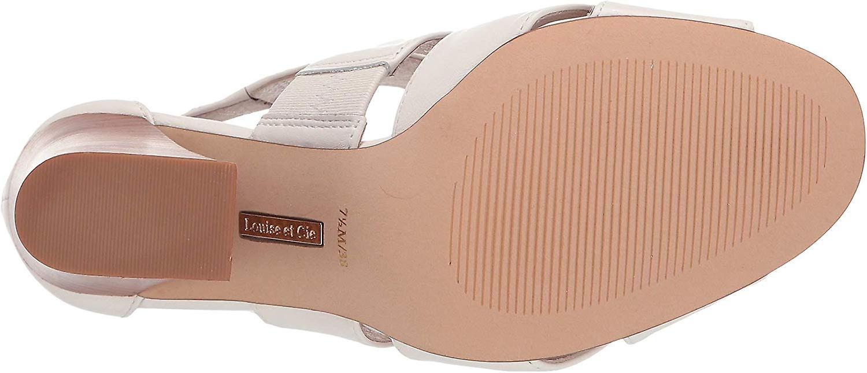 Louise Et Cie Womens Kriztsa Leather Peep Toe Classic Pumps