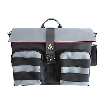 Assassins Creed Odyssey messenger bag logo vasket Look farget webbing offisiell