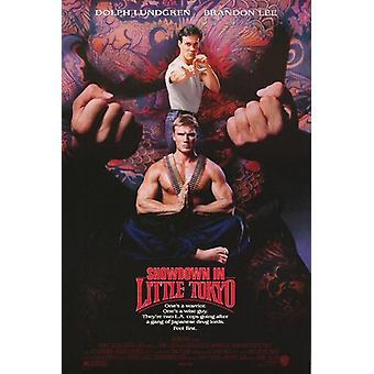 Showdown i Little Tokyo (1991) original Cinema affisch