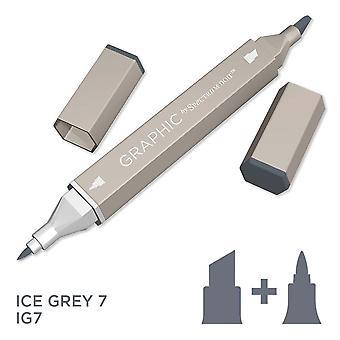 Graphic by Spectrum Noir Single Pens - Ice Grey 7