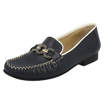 Ladies Van Dal läder mockasiner Bethany