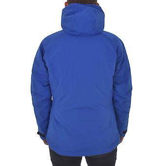 adidas Performance AdiZero Womens Padded Waterproof Hooded Winter Jacket - Blue