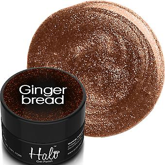 Halo Gel Nails Twas The Night 2019 Gel Polish Collection - Ginger Bread 8ml (N2603)