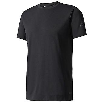 Adidas Freelift chill 1 mens fitness oefening training sportschool T-shirt tee zwart