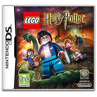 Lego Harry Potter Years 5-7 Nintendo DS Game