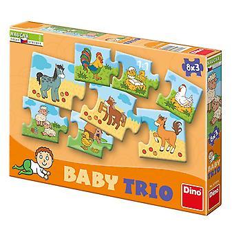 Dino Zabawki Puzzle (325098)