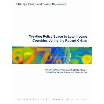 Het creëren van beleidsruimte in LowIncome landen tijdens de REC door Yongzheng Yang
