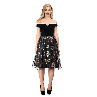 Collectif Vintage Women's Princess Liz Fairytale Dress