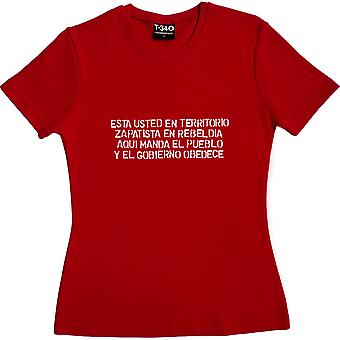 The People Give the Orders Red Women's T-Shirt