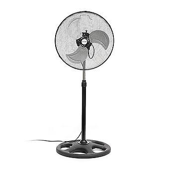 Industrial Ø 45 cm 75W Black Pedestal Fan