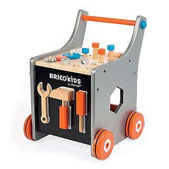 Janod Brico Kids Chariot de bricolage magnétique